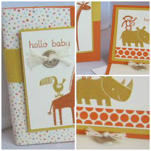 Zoo Babies, Stampin' Up!,  Craft Project Central