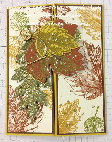 Vintage Leaves, Stampin' Up!