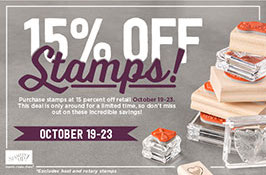 Stampin' Up!, Discounts