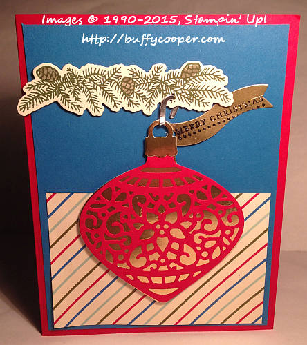 Stampin' Up!, WWC38, Embellished Ornaments