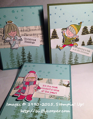 Christmas Cuties, Stampin' Up!