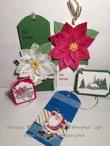 Stampin' Up!, Tags, Cozy Christmas, Reason for the Season