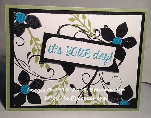 Watercooler Wednesday, Stampin' Up!