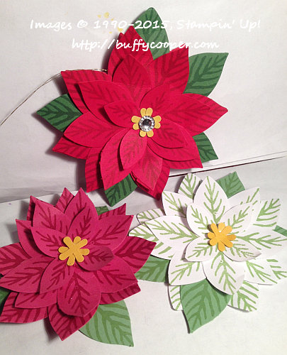 Reason for the Season, Festive Flower, Stampin' Up!