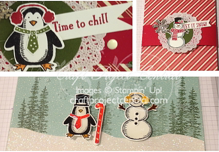 Snow Place Bundle, Stampin' Up!, Craft Project Central