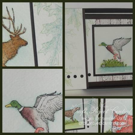 Watercolored Masculine Card Set SP