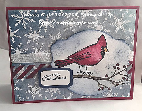 Season of Cheer, Joyful Season, Stampin' Up!, WWC45
