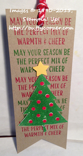 Cheer All Year, Stampin' Up!, Christmas