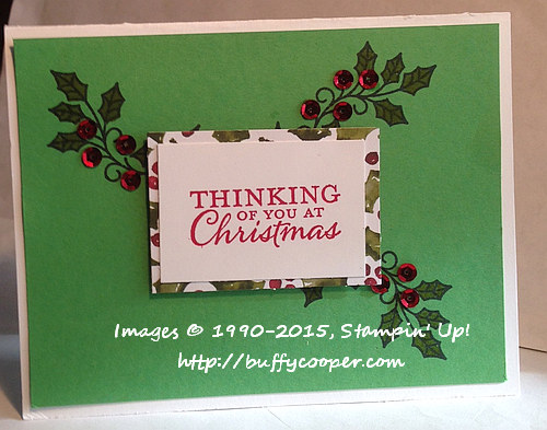 Embellished Ornaments, Stampin' Up!