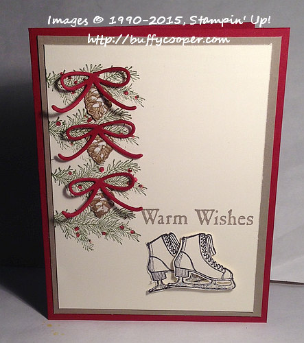 WWC48, Stampin' Up!, Warm Wishes