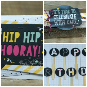 Craft Project Central, Party with Cake, Stampin' Up!