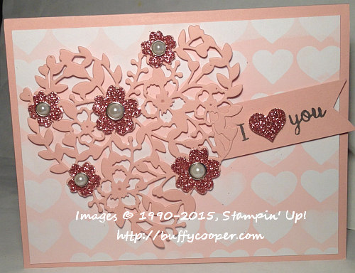 Stampin' Up! Occasions Catalog, Memories in the Making, Bloomin' Heart, Love Blossoms
