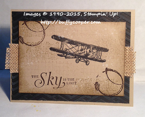 Timeless Textures, Sky Is the Limit, Stampin' Up!