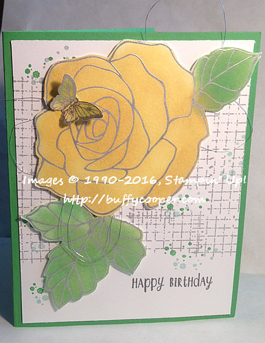 CPC55, Stampin' up!, Rose Wonder