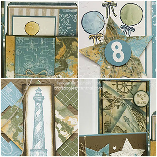 Going Places, Stampin' Up!, Craft Project Central