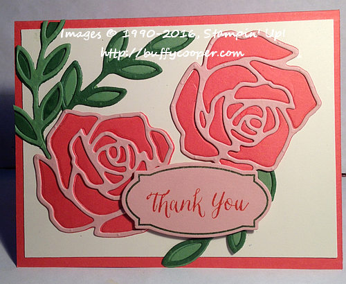 Stampin' Up!, Rose Wonder