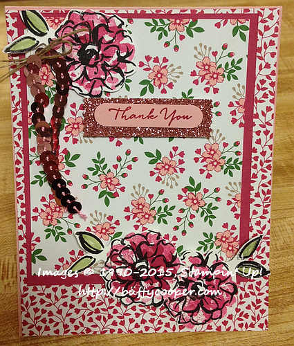 What I Love, Love Blossoms, Stampin' Up!