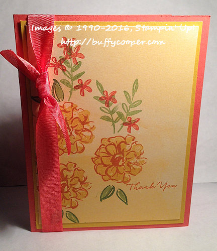 What I Love, Stampin' Up!, Sale-a-bration