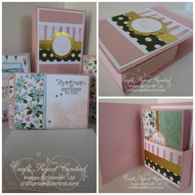 Stampin' Up!, Craft Project Central, Birthday Bouquet