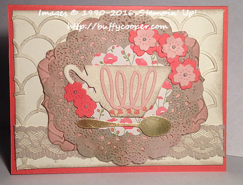 Cups and Kettle Framelits Dies, Stamp;in' Up!, Bloomin' Love