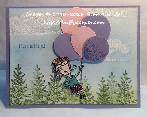 Balloon Celebrations, Lovely as a Tree, Just Kidding, Stampin' Up!