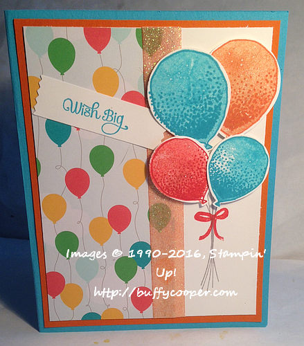 Balloon Celebrations, Stampin' Up!