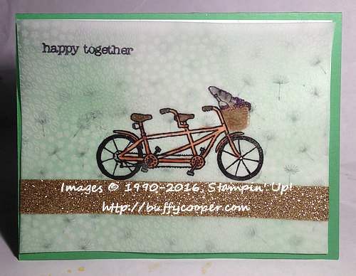 Pedal Pusher, Sale-a-bration, Stampin' Up!