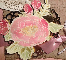 Rose Wonder, Stampin Up!, Timeless Textures