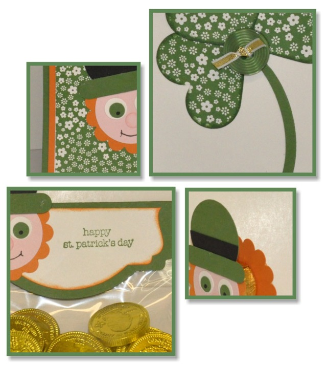 Craft Project Central, Stampin' Up!, St. Patrick's Day