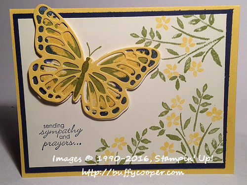 Number of Years, Watercolor Wings, Stampin' Up!, Petite Pairs