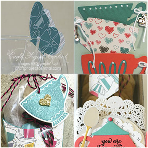 A Nice Cuppa, Stampin' Up!, Craft Project Central