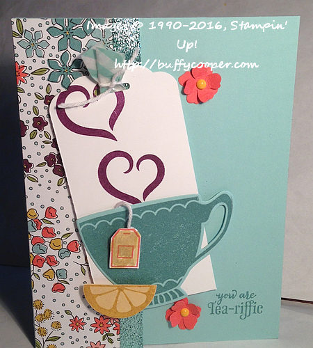 Stampin Up!, Have a Cuppa, CPC56