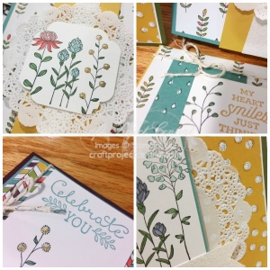Wildflower Fields, Stampin' Up!, Craft Project Central