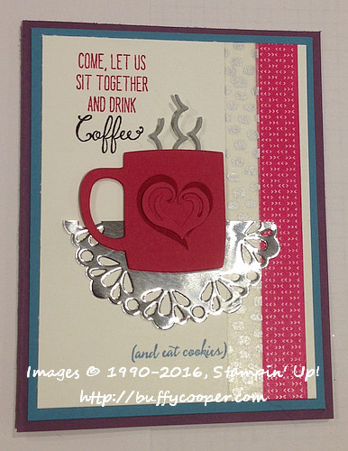 A Nice Cuppa, Balloon Celebration, Stampin' Up!