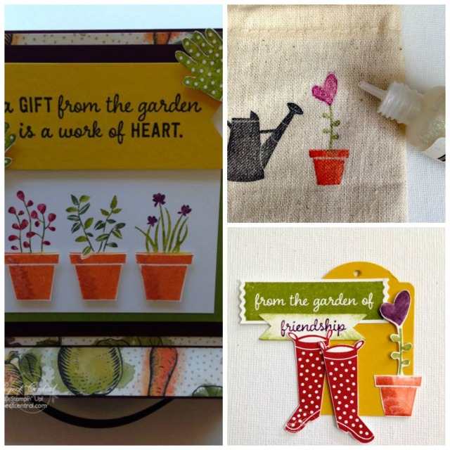 Farmer's Market, Gifts from the Garden, Stampin' Up!