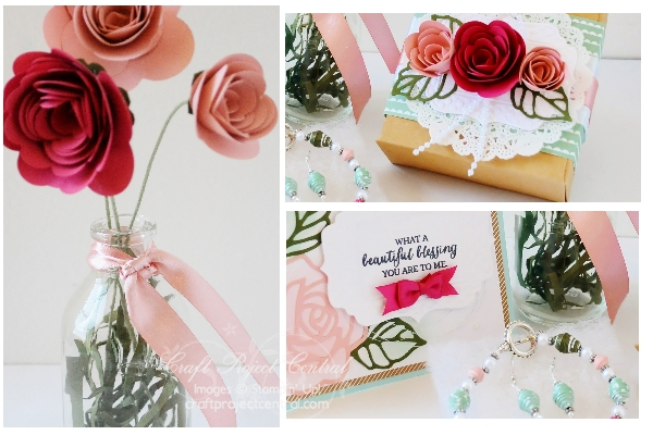 Stampin' Up!, Craft Project Central, Rose Wonder