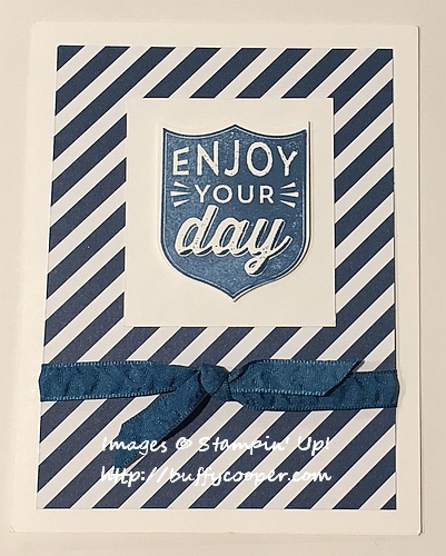 Badges & Banners, Stampin' Up!, Bonnie Farley