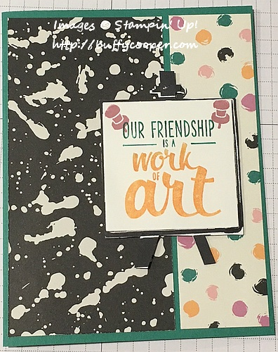 Painter's Palette, Playful Palette, Stampin' Up!