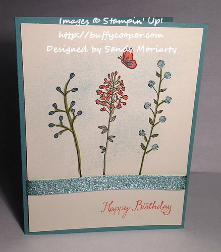 Flowering Fields, Stampin' Up!
