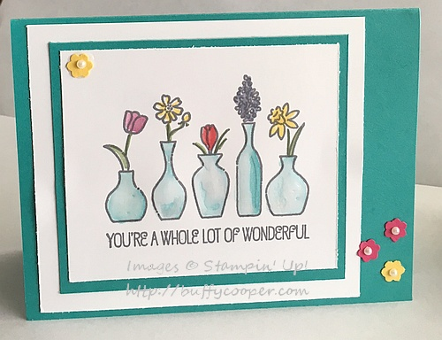 Vivid Vases, Stampin' Up!