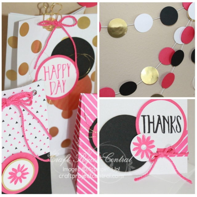 Pop of Pink, Stampin' Up!