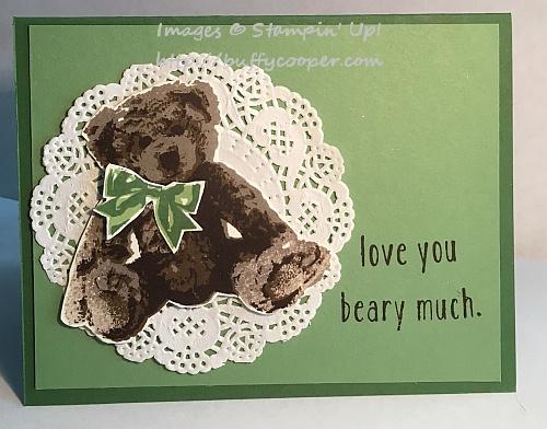 Baby Bear, Stampin' Up!