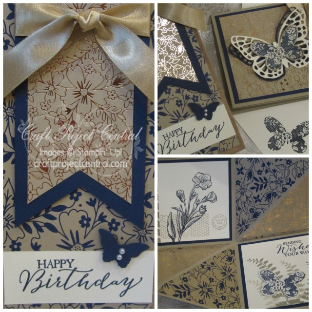 Craft Project Central, Stampin' Up!, Butterfly Basics