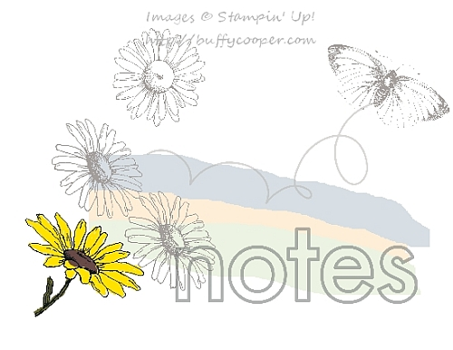 Sketch Challenge, Stampin' Up!, Weather Together
