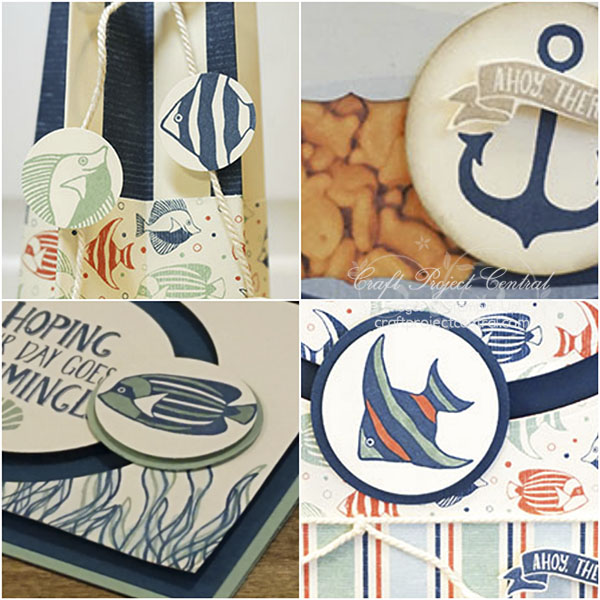 Seaside Shore, Stampin' Up!, Craft Project Central