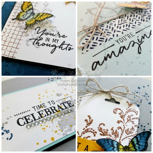 Gorgeous Grunge, Timeless Textures, Stampin' Up!, Craft Project Central