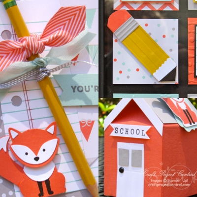 Foxy Friends, Stampin' Up!, Craft Project Central