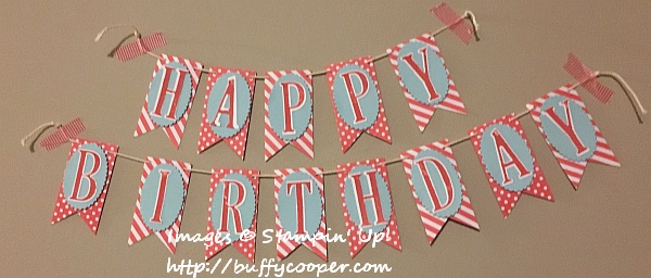 Letters for You, Stampin' Up!