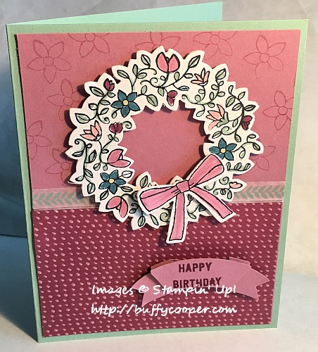 Circle of Spring, Stampin' Up!