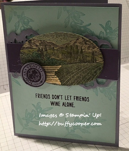 Tuscan Vineyard, CPC62, Stampin' Up!